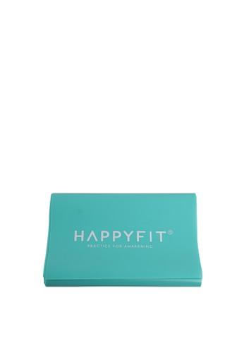 Happyfit green HAPPYFIT RESISTANCE FLEXI BAND / EXERCISE STRAP 0,6MM TOSCA 37935ACE210F28GS_1