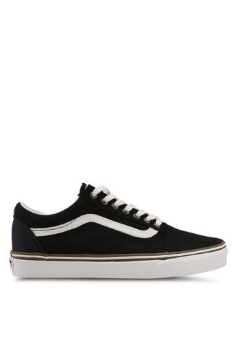 VANS black Old Skool Sun Faded Sneakers VA142SH0SWUYMY_1