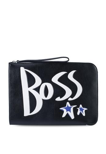 BOSS 黑色 BOSS x Justin Teodoro Holiday 小包-BOSS Body 0D892AC06F50B9GS_1