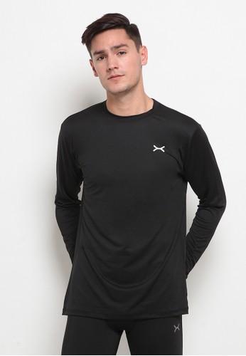 Flexzone black FLEXZONE Long Sleeves Baselayer Essential Series Black 7A5F2AA6965226GS_1