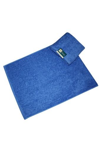 Martel blue Martel Basic Hand Towel 91C74HL36FAD0DGS_1