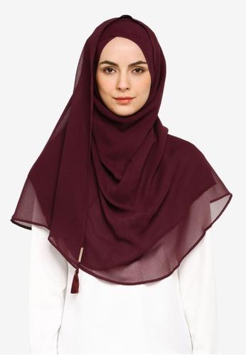 Bokitta purple Grapey Instant Hijab E2BB5AAB407702GS_1