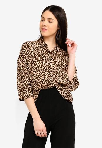 3f5cd3dba7c4 Shop Cotton On Rebecca Chopped Shirt Online on ZALORA Philippines