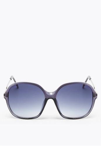 MARKS & SPENCER navy Square Sunglasses 686EEGL9835215GS_1