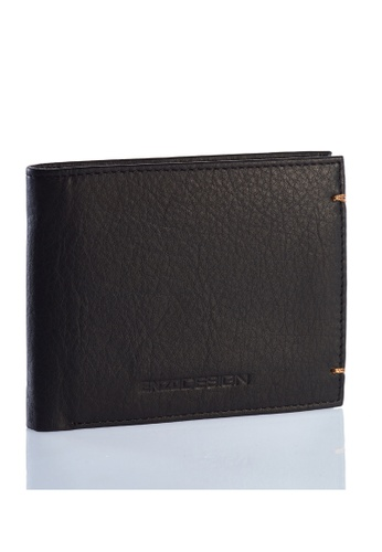 ENZODESIGN black Ultra Soft Cow Nappa Leather Slim Wallet EN357AC0HAXNSG_1