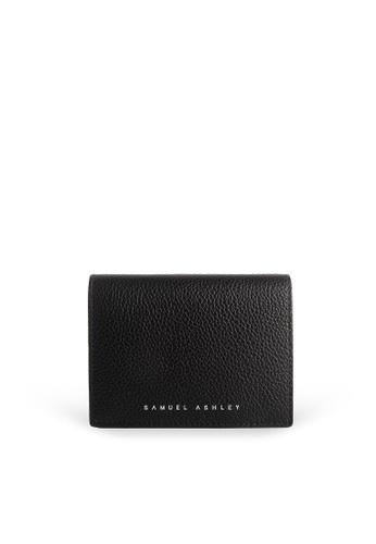 Samuel Ashley black Ellery Bifold Wallet - All Black 602F2AC4A8D395GS_1