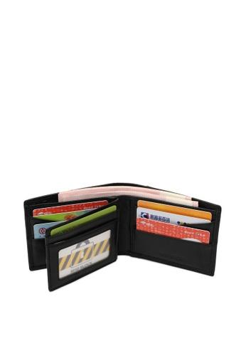 Volkswagen black Genuine Leather RFID Wallet & 35mm Belt 23895ACB33ED74GS_1