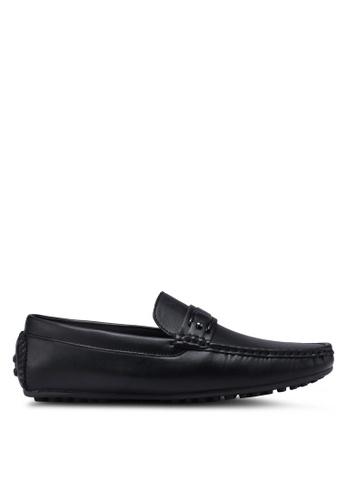 Bata black Slide-On Loafers 0FBC7SH8F8BF37GS_1