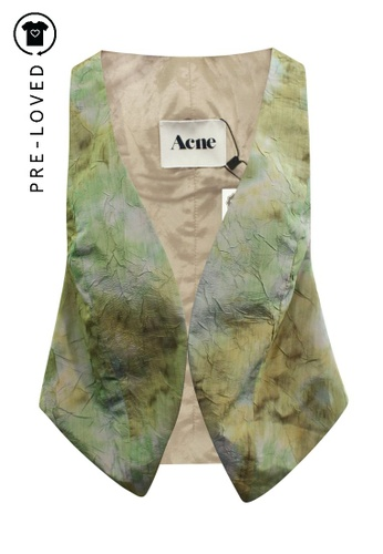 Acne Studios green Pre-Loved acne studios Teal Vest 25A39AAA43678AGS_1