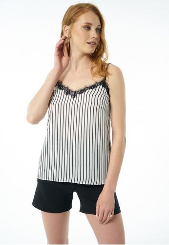 Auden Cavill black Auden Cavill Women Plain Cami Stripe Design 7C166AAC4B7BA6GS_1