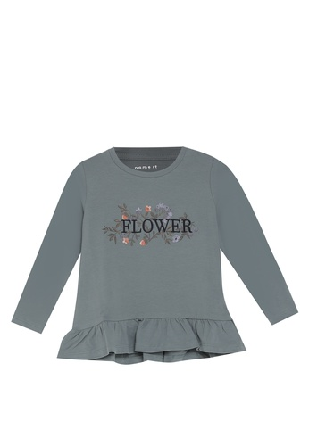 NAME IT blue Nelly Long Sleeves Tee BE91EKA022B804GS_1
