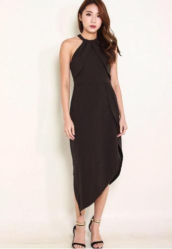 Leline Style black Bautrice Dress LE802AA0FUCOSG_1