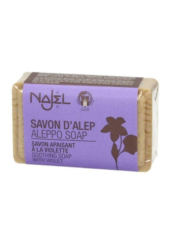 NAJEL NAJEL - Aleppo Soap with Violet(100g) 392FABE3C2F4B0GS_1