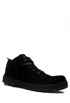 46% OFF Cut Engineer Cut Engineer New Classic Safety Low Boots Suede Black  Rp 284.900 SEKARANG Rp 152.625 Ukuran 39 40 41 42 43 391b00e855