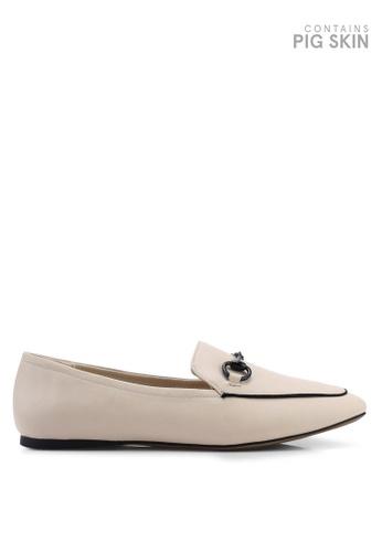 Keddo 褐色 Belette 經典樂福鞋 96656SH280F944GS_1
