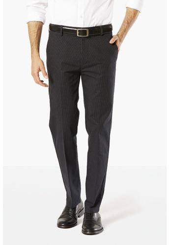 Dockers black Dockers Signature Khaki Stretch Slim Fit Pants Black DO282AA50SXTSG_1