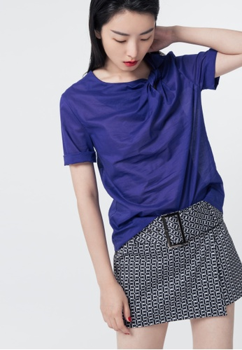 iROO purple Knotted Top 008A2AA556CBAEGS_1