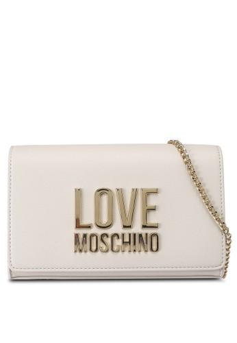 Love Moschino beige Logo Crossbody Bag 81214AC2833FA7GS_1