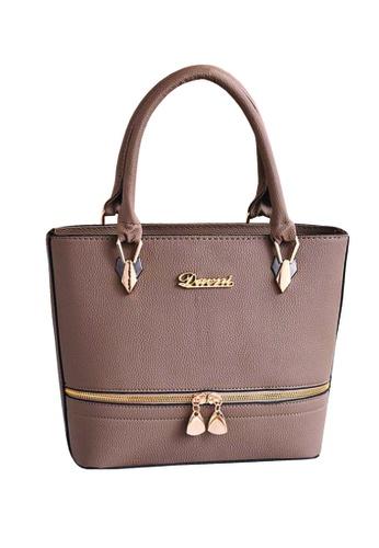 TCWK brown TCWK Korea Style Women Handbag - Brown E8949AC52DAC8FGS_1