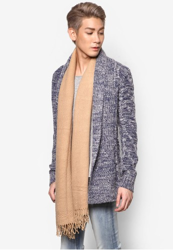 長esprit outlet 高雄版翻領針織外套, 服飾, 開襟外套