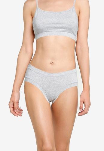 JBS of Denmark grey Bamboo Hipster Panties CE5B9USA199E93GS_1