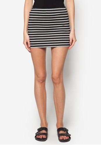 基本款迷你短裙zalora時尚購物網的koumi koumi, 服飾, 服飾