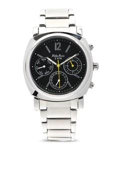 Analog Watch 1651SS-BK-YL-Hand