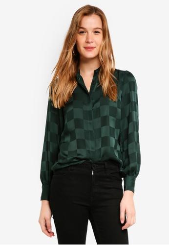 ICHI black Veroni Shirt 81701AA6824F9EGS_1