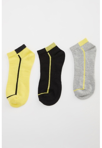 DeFacto multi Man 3-pieces Low Cut Socks 71262AA65AE557GS_1