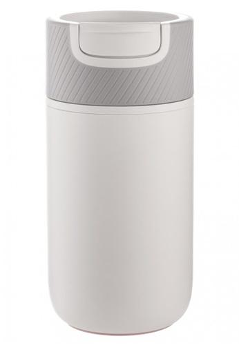 Artiart green Zebra Café Suction Mug (White) (Water Logo) Design By ArtiArt 190FAHL6F999AFGS_1