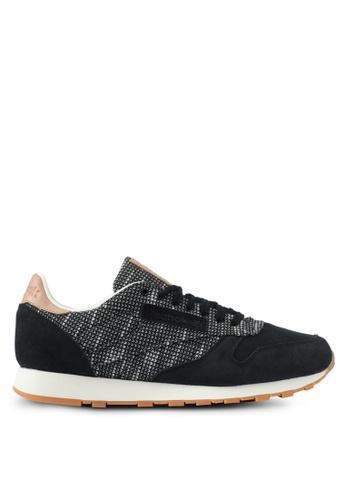Reebok black Classic Leather EBK Shoes RE691SH0SHTNMY_1