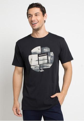 Quiksilver black Photo Mix T-Shirt 30817AAA7AA224GS_1