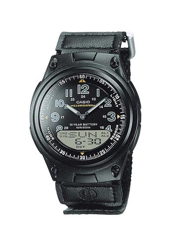 Casio black Casio Analog-Digital Sports Watch (AW80V-1B) FD120AC64F50F0GS_1