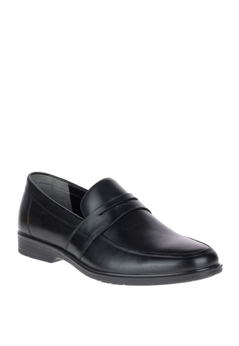 Hush Puppies black Erik Workday Waterproof Dress Casual  Shoes AD5CDSH879F461GS_1