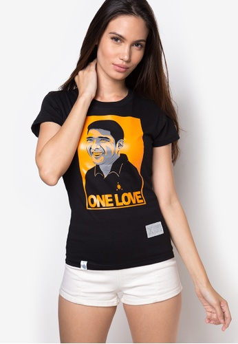 FrancisM Clothing Co. black One Love Face Top FR704AA73JPMPH_1