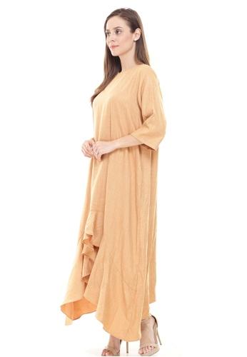 Rina Nichie Basic brown Aubrey Dress C757AAAE3008DAGS_1
