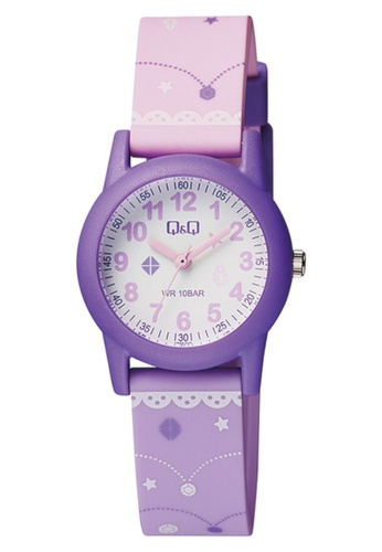 Q&Q purple Q&Q WATCH BY CITIZEN For Kid Watch VR99J006Y BAB1CKCC6219FBGS_1