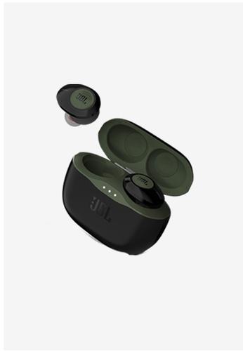 JBL green JBL TUNE 120TWS Truly Wireless Earbuds + JBL Waterbottle F7FAEACF5665C8GS_1