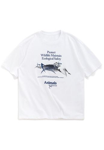 Twenty Eight Shoes Oversize Printed T-Shirts 1022S20 202F2AA6415F0CGS_1