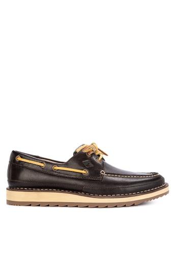 Sperry brown Dockyard 2-Eye Boat Shoes C8038SH5F71F2EGS_1