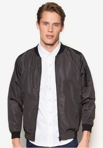 拼色防水棒球外套, 服esprit服飾飾, 外套