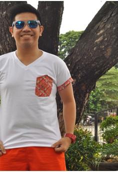 DR - Weave - Pocket & Sleeves Combo Tees (V-Neck)