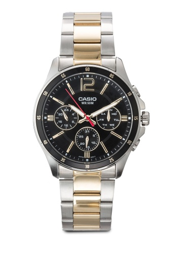 Casio multi Casio Enticer Analog Black Dial Men's Watch CA843AC63JQUMY_1