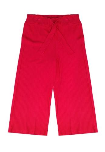 FOX Kids & Baby pink Ribbed Trousers 92E56KA643CD76GS_1