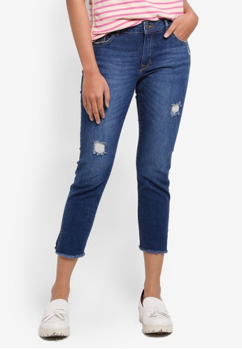 ESPRIT blue Denim Length Service Jeans 7F901AA1BD5E18GS_1