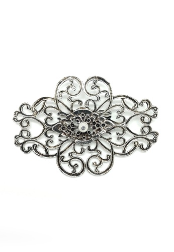 Paulini silver and gold Brooch Lina (R) PA011AC63XVCMY_1