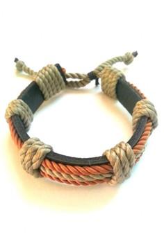 Surfer Twisted Rope Bracelet