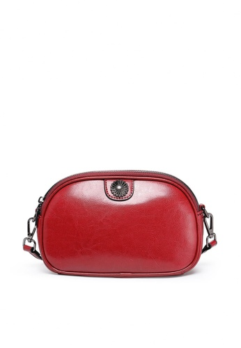 Twenty Eight Shoes red VANSA Burnished leather Crossbody Bag VBW-Cb66066 A914CAC9FFB51CGS_1