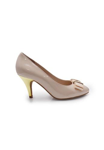 Elisa Litz pink Pomerianie Heels (Pink) EL365SH27CJWSG_1