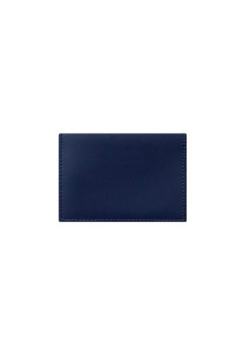 Knocks blue Bifold Namecard Holder Blue 8632CACF610F2CGS_1